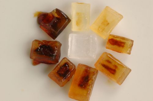 Crystal ring caramel