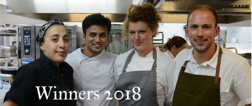 Young chefs faces